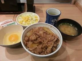 Gyudon meal