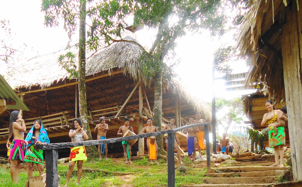 THE EMBERA INDIANS OF PANAMA, CENTRAL AMERICA (6/6)