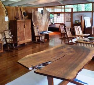 Nakishima Conoid Studio interior