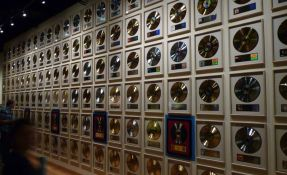 Nashville Country Music Hall Of Fame Gold and Platinum Records