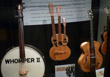 Nashville Country Music Hall Of Fame Unusual and Unique instruments