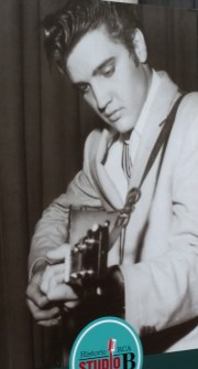 Elvis recording at RCA Studio B