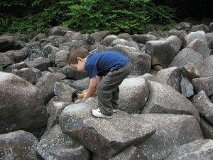 Ringing Rocks Park, Upper Black Eddy, PA