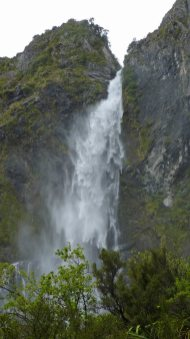 Devils Punchbowl at Arthur's Pass