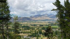 Hanmer Springs view of valley