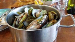 Mussels at the Mussel Pot in Haverlock