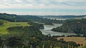 River view from the KiwiRail's TranzAlpine Railway