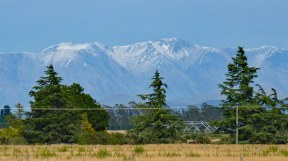 New Zealand's Southern Alps from the KiwiRail's TranzAlpine Railway