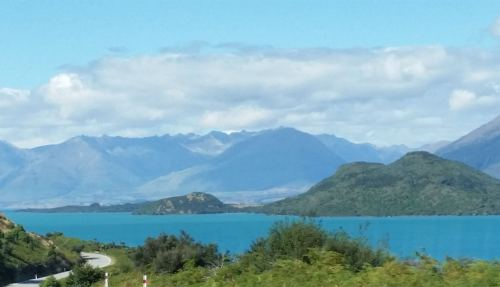 mountains lake view glenorchy queenstown New Zealand