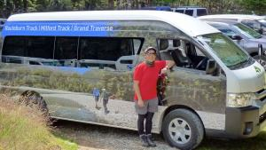 Van at end of Routeburn track