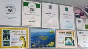 Huka Falls River Cruise boat credentials