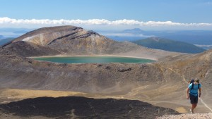 Tongariro Alpine Crossing - Blue Lake