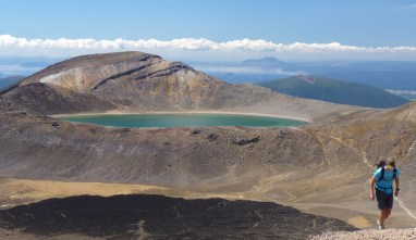 Tongariro Alpine Crossing - Blue Lake