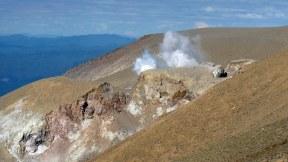 Tongariro Alpine Crossing steam vents