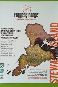 Stewart Island tours by Ruggedy Range