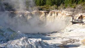 Hells Gate geothermal hot pools