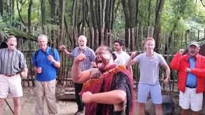 Tamaki Maori Village haka dance