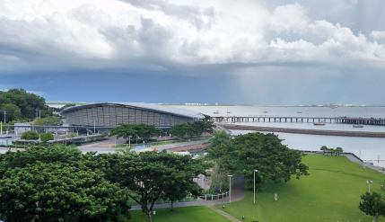 Darwin Waterfront Precinct, with Wave Lagoon and saltwater Recreation Lagoon
