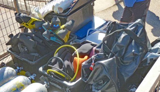 Exmouth Dive Centre scuba gear