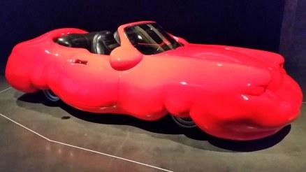 MONA Museum in Hobart Tasmania - Fat car by Erwin Wurm