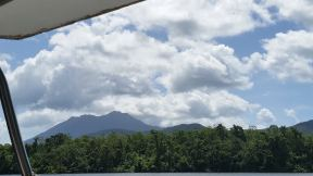 Mountains viewed from Daintree River cruise