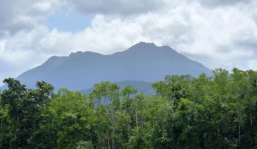 Mountains viewed from Daintree River