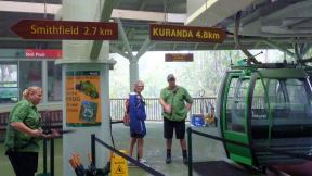 Red Peak station of the Skyrail Rainforest Cableway