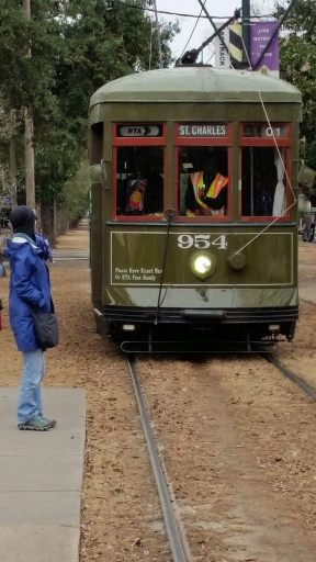 The St Charles trolley in New Orleans is the oldest continuously operated street railway in the world.