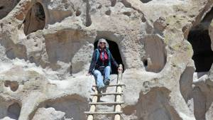 Bandelier National Monument Pueblo Cliff dwellings