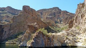 Canyon Lake, AZ, on the Apache Trail