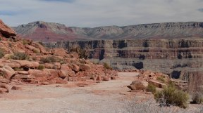 Grand Canyon West - color variations