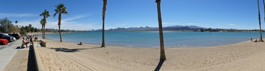 Lake Havasu beach