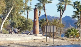 Lake Havasu - Currituck Beach Lighthouse replica