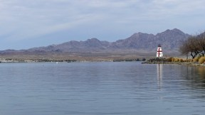 Lake Havasu - East Quoddy Lighthouse replica