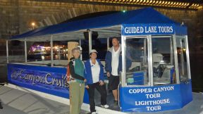 Sunset Charter & Tour Co. Lighthouse Tour aboard Kon Tiki Canyon Cruiser
