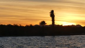 Beautiful Lake Havasu sunset