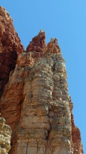Scenery and Sights from Verde Canyon Railroad. Towering rock formations as seen along our route.