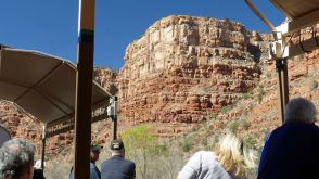 Impressive sights from the Verde Canyon Railroad
