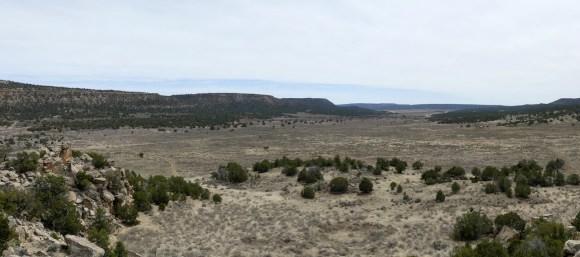 View from Zuni Hawikku a favorite pueblo visit