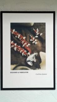 Carlton Jamon Zuni silver jewelry artist, designer and fabricator