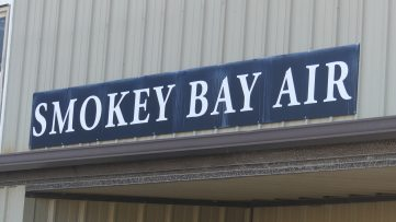 Arriving at Smokey Bay Air
