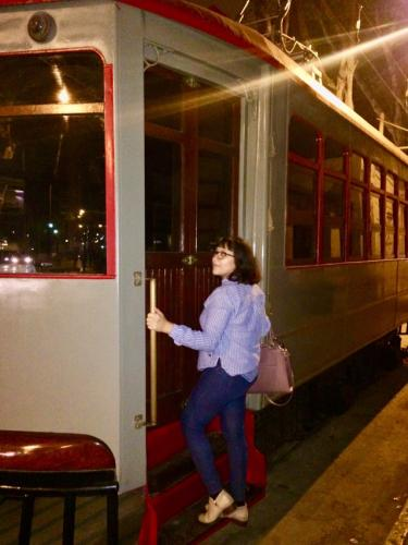 Visiting the cablecar of Barranco