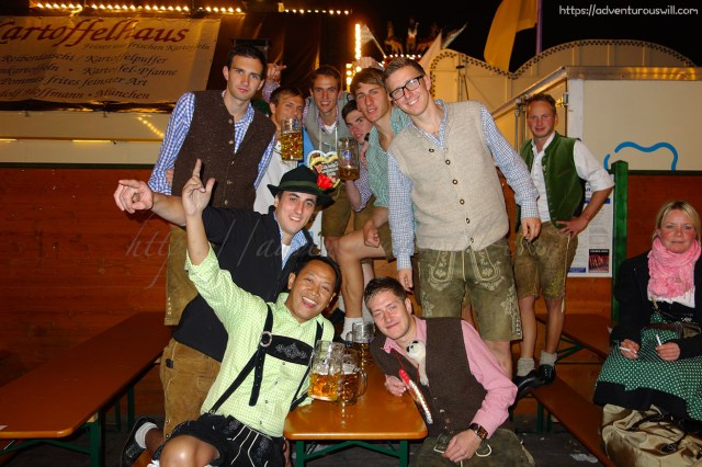 With our Oktoberfest costume