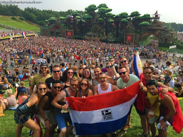 Tomorrowland 2016 with the Dutch friends