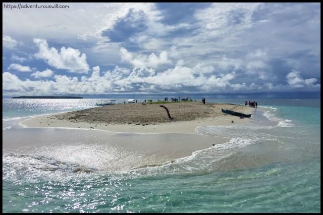 Siargao Island-hopping: Naked Island