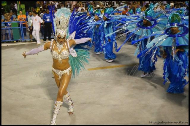 """Passista"" showing the art of Samba dance"