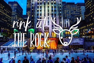 'Tis the Season in New York City: Rink at the Rock