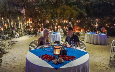 Romantic Cave Dining in Bali