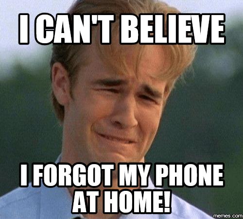 forgot-mobile-phone-at-home-disadvantage