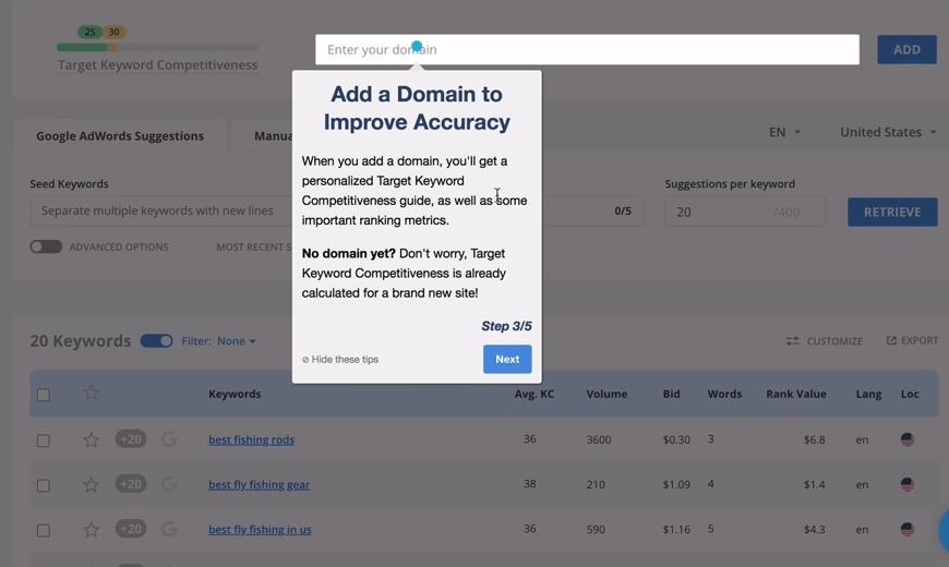 long-tail-pro-tutorial-add-domain